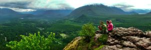 Rattlesnake Ledge Pano #2 by KRHPhotography