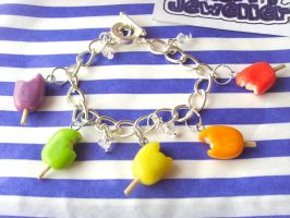Summer Time Ice Lolly Bracelet by tyney123