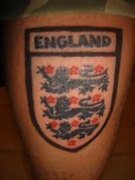 england tattoo by bevf2003