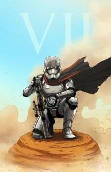 Captain Phasma by AndrewKwan