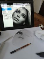 Beyonce in the making by Liesjj