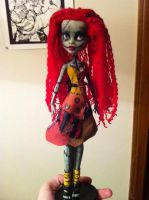 MH doll ooak-Sally from NBC by greenflavouredink