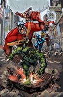 A is for Avengers by timothylaskey