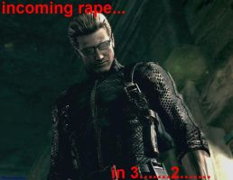 Wesker incoming by SlaveRain