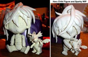 Haru and Sparky Figures WIP by katiebobbaseball11