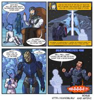 The secret ending of Mass Effect by Rogue-alien