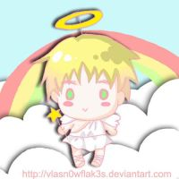 chibi britannia angel by vLaSn0wfLak3s