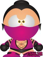 Mileena - UMK3 by Gillbob316