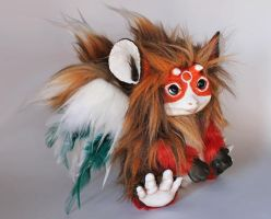 Ooak Fox Pikopo (Comission) by CustomLovers