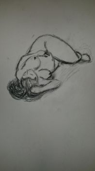 life drawing #7 by Gary3-6-9