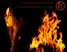 Katniss Everdeen- Girl on Fire by 123CoolCookie