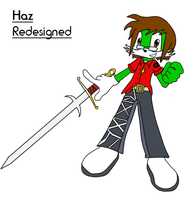 Haz gets a Minor Re-Design by UltimateEbil