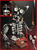five nights at freddys lego endo skeleton body by Ian-exe