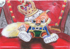 Conker the king by ConkerTSquirrel