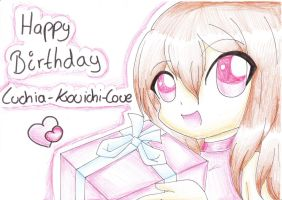 Happy Birthday, Luchia-Kouichi-Love by TokiHoshiwa