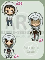 Assassin's Creed - adoptable by Umi-Mizuno