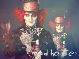 Mad Hatter Wallpaper by potclotr93