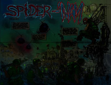 Spider-'NAm w.i.p by noobstar