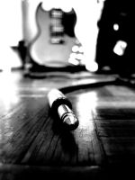 my guitar by IolanthePhoto