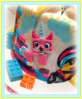 The Lego Movie Cake Unikitty by gertygetsgangster