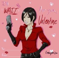 Ada Valentine Card by BleachcakeCosplay