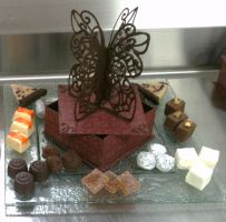 Chocolate Butterfly Box-LCB by Qess