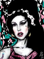 Amy Winehouse by Vincent2215
