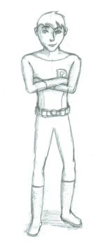 Danny Phantom - Young Justice Style by RedMoonWhiteTiger