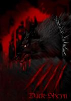 Blood wolf by Dark-Sheyn