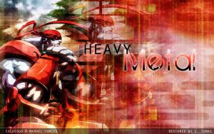 Colossus: Heavy Metal by avidcartoonfans