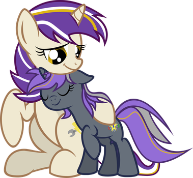 Cookie and Lumi by slowlearner46