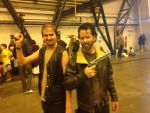Rick Grimes and Daryl Dixon Cosplay by Spider-Matt