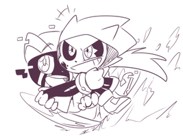 sonally (ink x error) by thegreatrouge