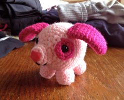 Pink Puppy Crochet by Mickeycricky