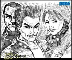 Shenmue Pencils by Lannytorres