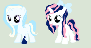 2 new Filly OC's! by Meadow-Leaf