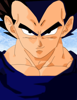 Yet another Vegeta by misspsyb
