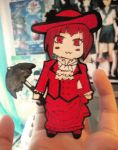 Madam Red Paper Child by blue-ember333