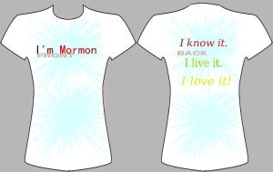Mormon Shirt-LDS group contest. by khaos-gurl