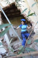 Jill Valentine: Escape from the horror by Tify-Diamond