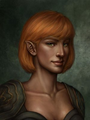 Rhianna Hawke, Cherished Daughter by DragonReine
