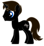 Shadow the Unicorn OC by Shadwcoopa