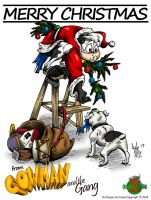 Merry Christmas 2014 from Cowman by OuthouseCartoons