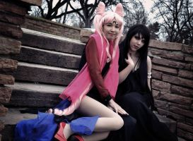 Mistress 9 and Wicked Lady 3 by lynlunnar
