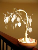 Masking Tape Tree by seriouslytwisted