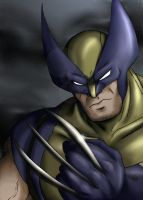 Wolverine color by jerica128