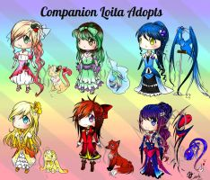 Companion Lolita Adopts Auction(CLOSED) by JigokuShii