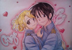 Riza and Roy by Killjoy-Chidori