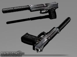 SOCOM Mk23 textured by senor-freebie