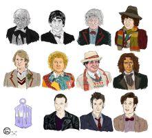 The 11 Doctors by MrOfir